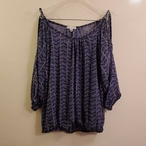 New York and Company sheer top